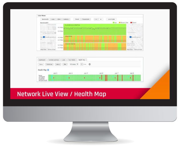 Unrivaled view into 3your network